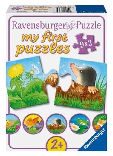 Ravensburger 9x2 Parça Puzzle Bahçe Hayvanları Renkli